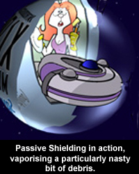 Passive Shielding in action